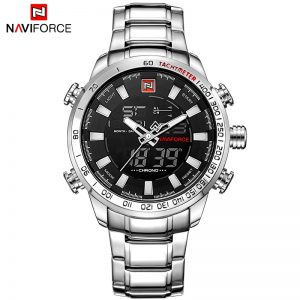 Military Sport Watches LED Analog Digital Watch