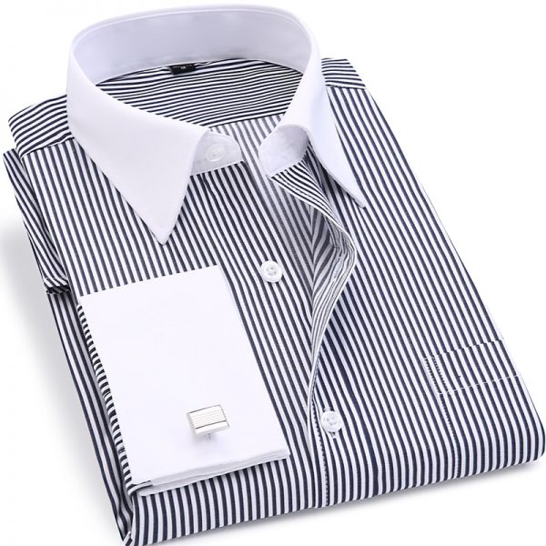 French Cufflinks Shirts Wedding Tuxedo Shirt