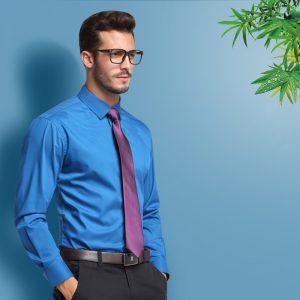 Bamboo Fiber Dress Shirts Comfortable Soft Shirt