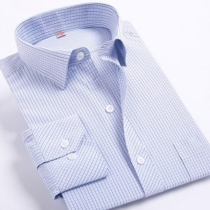 Men Striped Shirts Leisure Style Casual Shirt