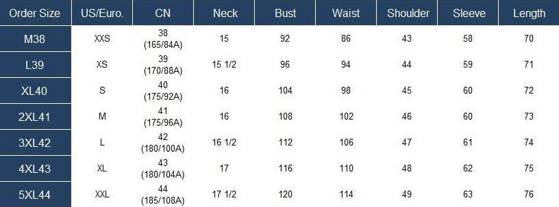 French Cufflinks Shirt Non-iron Dress Shirts