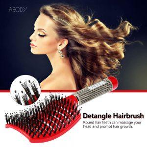 Comb Hair Brush Scalp Professional Hairbrush