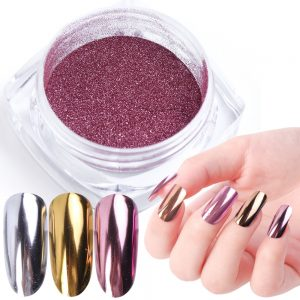 Nail Art Mirror Pigment Powder Nail Glitter