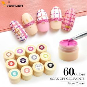 Gel Paint UV Nail Gel Soak Off Nail Art Led Nail