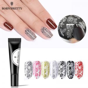 Nail Stamping Gel Polish Gel Lacquer Soak Off Varnish
