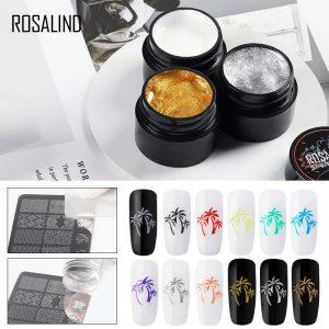 Nail Art Stamping Gel Print Manicure Nails