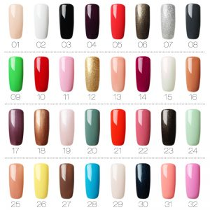 Gel Nail Art Polish Varnish Manicure UV