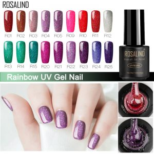 Nail Polish Gel Nail Varnish Rainbow Vernis