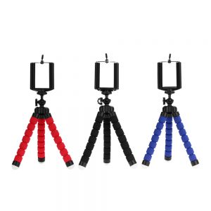 Tripods Mobile Camera Holder Clip Tripe Stand