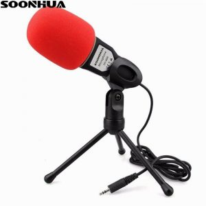 Professional Condenser Sound Podcast Studio Microphone