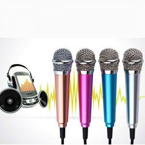 Karaoke Mini Microphone Stereo Studio Microphone