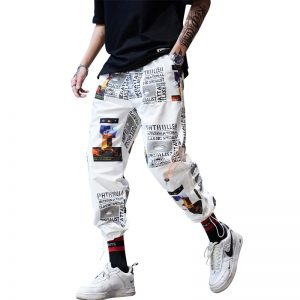 Hip Hop Sportswear Ankle length Pants Street Trousers