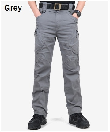 Tactical Cargo Pants Men SWAT Army Trousers
