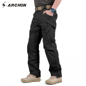 Cargo Pant Men SWAT Combat Army Trousers