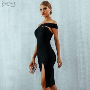 Bodycon Bandage Dress Sexy Celebrity Party Dresses