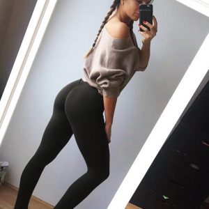 Fashion Push Up Leggings Workout Leggings Pencil Pants
