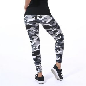 Camouflage Printing Elasticity Leggings Fitness Pant