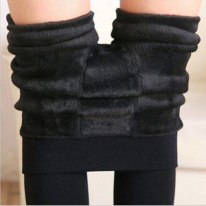 Cashmere Legging Faux Velvet Slim Elastic Leggings