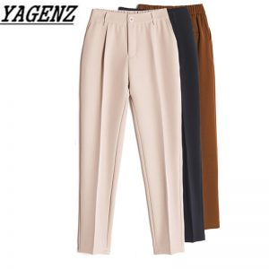 Casual Harem Pants Fashion Ankle Length Trousers