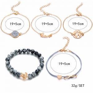 Bohemian Turtle Charm Bracelets Bangles Jewelry