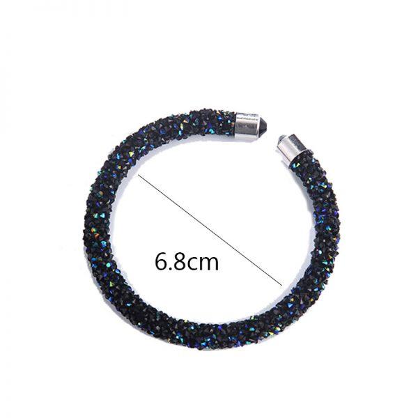 Crystal Cuff Bracelet Open Bangles