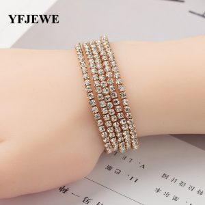 Elasticity Wrap Bracelets Bridal Wedding Bangle