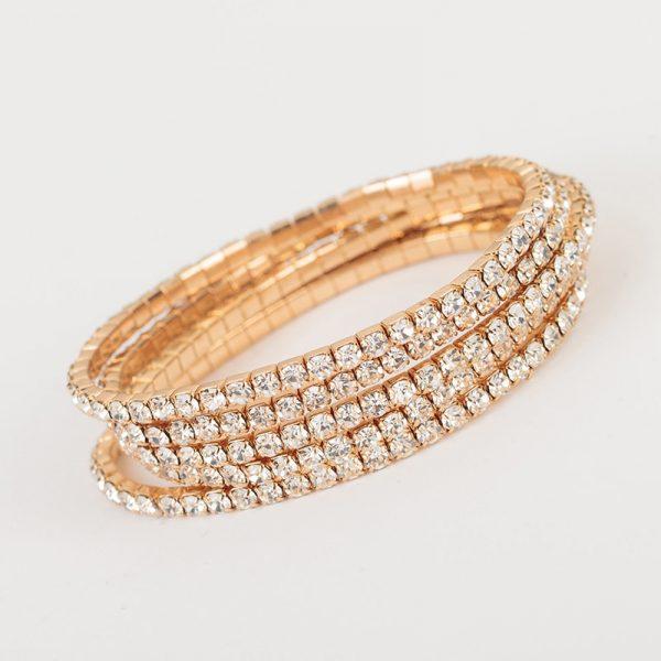 Elasticity Wrap Bracelets Bridal Wedding Bangle