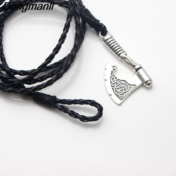 Men Jewelery Ax Wrap Anchor Viking Bracelet