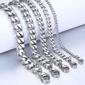 Men Bracelets Cuban Link Chain Bracelet