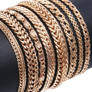 Venitian Link Chains Bracelets Fashion Jewelry