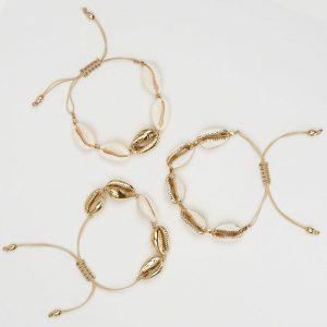 Cowrie Shell Jewelry Handmade Bracelet