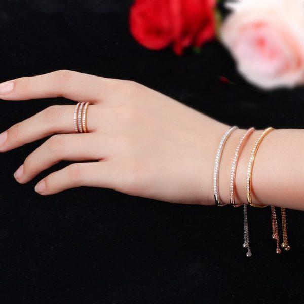Adjustable Bracelet Bangle Women Jewelry