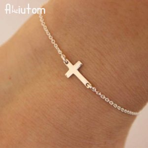 Charm Cross Chain Bracelet Fashion jewelry