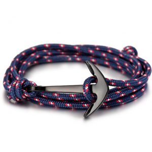 Anchor Bracelet Leather Friendship Bracelets