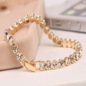Shiny Bracelets Austria Crystal Cuff Bangles