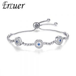 Crystal CZ Eyes Bracelets Wedding Jewelry