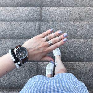Couples Distance Bracelet Classic Stone Bracelets