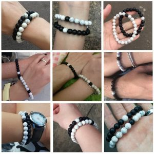 Couples Bracelets Yoga Beaded Bracelet