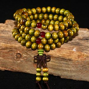 Buddha Wood Prayer Beaded Unisex Men Bracelets