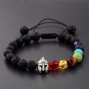 Gladiator Helmet Bracelets Yoga Elastic Bracelet