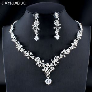 Classic Women Wedding Jewelry Bridal Necklace