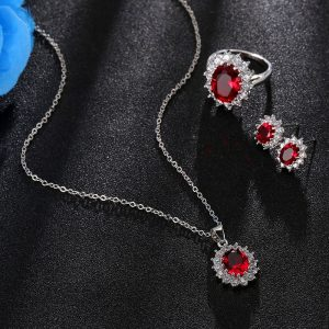 Crystal Stone Wedding Jewelry African Jewelry