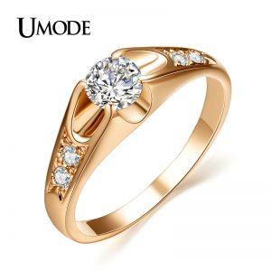 Women Zirconia Engagement Jewelry Rings
