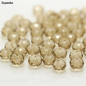 Crystal Glass Beads Loose Spacer Round Beads