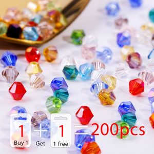 Shiny Crystal Beads Loose Spacer Bead