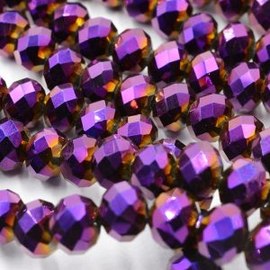Shining Crystal Bead Loose Spacer Beads