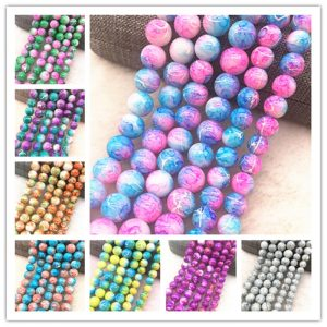 Glass Beads Loose Spacer Beads Jewelry Making