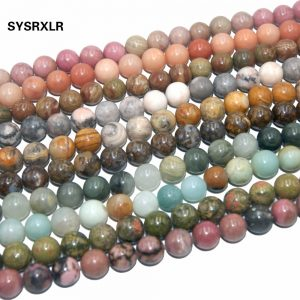 Natural Stone Bead Jewelry Making DIY Bracelet