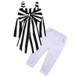 Girls Clothes sets Floral Girls Shirts Pants