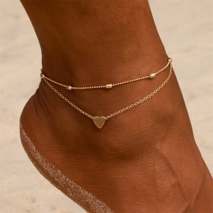 Anklets Barefoot Crochet Sandals Foot Jewelry